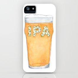 IPA Beer Pint iPhone Case