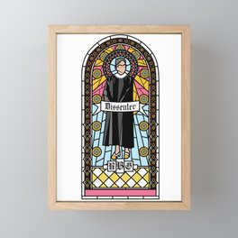 Ruth Bader Ginsburg Framed Mini Art Print