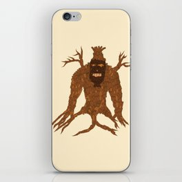 Tree Stitch Monster iPhone Skin