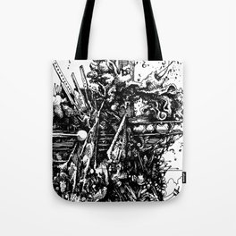 martha's junkyard Tote Bag