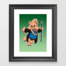 Bib Fortuna bear Framed Art Print