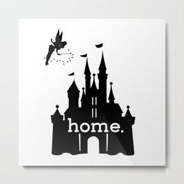 DisneyIs My Home Metal Print