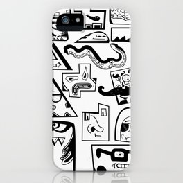 Little Musket Monsters iPhone Case