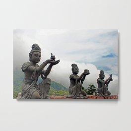 Buddhism - Tian Tan Buddha 134 - Hong Kong Metal Print