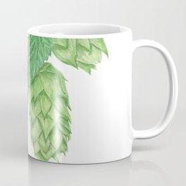 Beer Hop Flowers Coffee Mug