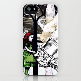 ASK ALICE iPhone Case