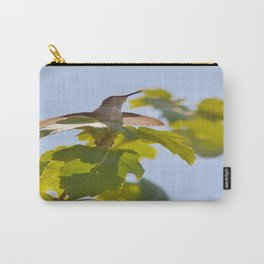 Hummingbird Chirping Away Carry-All Pouch