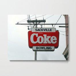 Drink and Bowl  Metal Print