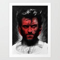The Wolverine - Japan Art Print