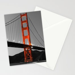 Golden Gate Bridge in Selective Black and White Stationery Cards