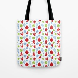 A Very Tennis Holiday Tote Bag