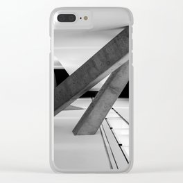 Between the Lines Clear iPhone Case
