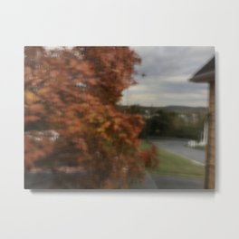 Blurred Weather Metal Print