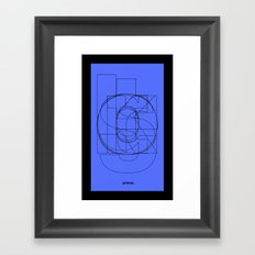 Die Neue Haas Grotesk (C-03) Framed Art Print