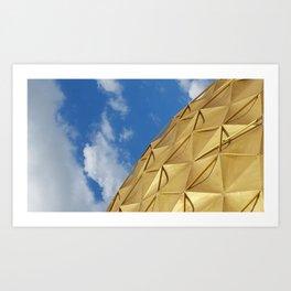 Oklahoman Gold Dome Art Print