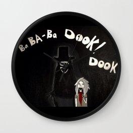 The Babadook Wall Clock