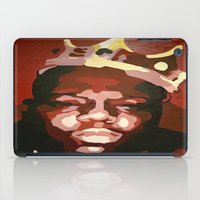notorious iPad Cases featuring Notorious Big by The Art Of Gem Starr