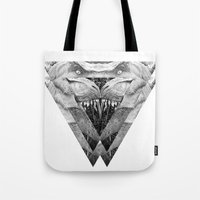 trex Tote Bags featuring TREX by moln4rt