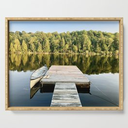 Dock on the Lake Serving Tray