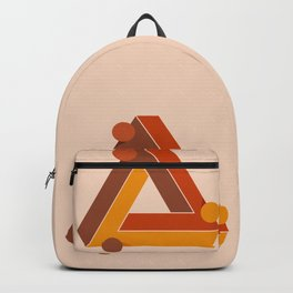 Abstraction_TRIANGLE_ILLUSION_Minimalism_001 Backpack