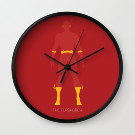 The FlashBack Wall Clock