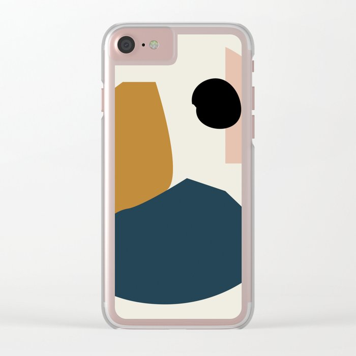 Shape study #1 - Lola Collection Clear iPhone Case