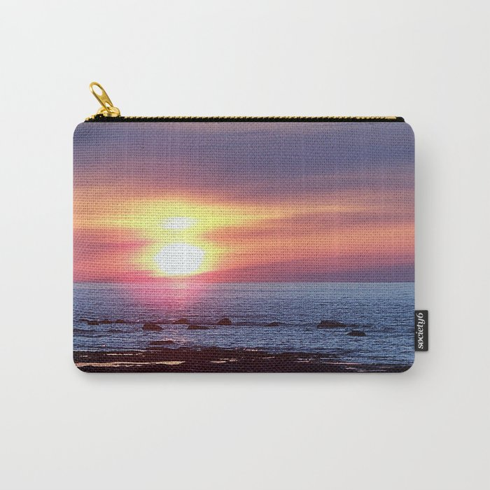 Double Sun Sunset Carry-All Pouch