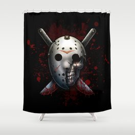 Saturday the 14th Shower Curtain