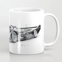 porsche Mugs featuring Porsche 962 by sesven