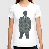 james bond T-shirts featuring Skyfall - James Bond: The Old Fashioned Way by Jon Naylor