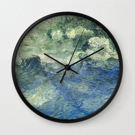 Clean Clear Clarity Wall Clock