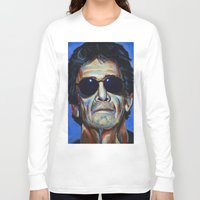 lou reed Long Sleeve T-shirts featuring Lou Reed by Buffalo Bonker
