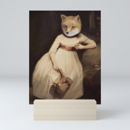 lady foxley Mini Art Print