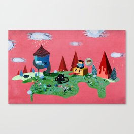 Fun World Canvas Print