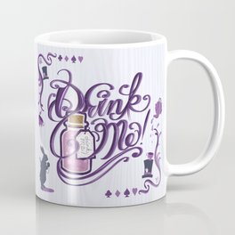 Alice In Wonderland Drink Me Coffee Mug