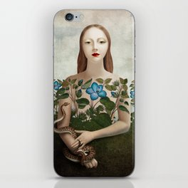 Eva and the Garden iPhone Skin