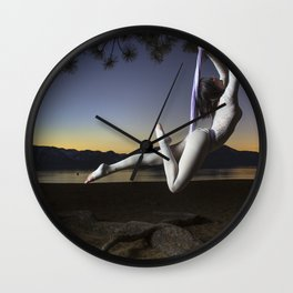 The Art of Flight Wall Clock