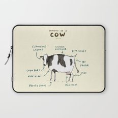 Anatomy of a Cow Laptop Sleeve