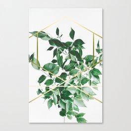 LUXURY x GOLD Canvas Print