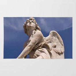 WHITE ANGEL of Sicily Rug