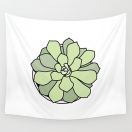 Green suculent Wall Tapestry