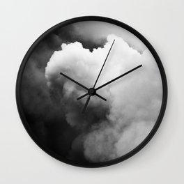 Smoke Over Yasur Wall Clock