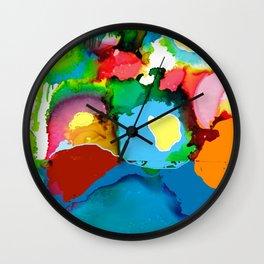 Ocean Encroaching 2018 Wall Clock