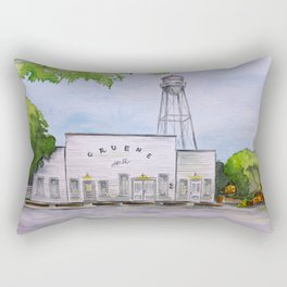 Gruene Hall - Oldest Dance Hall in Texas Rectangular Pillow