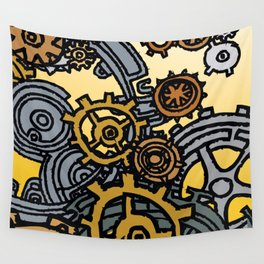 QUARTER TO FOUR Wall Tapestry