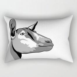 Oberhasli Dairy Goat Rectangular Pillow