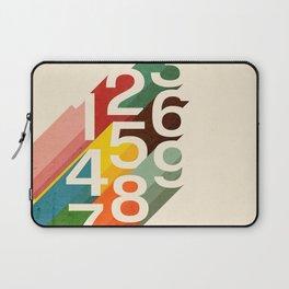 Retro Numbers Laptop Sleeve