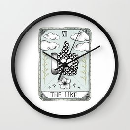The Like Wall Clock
