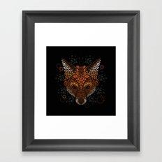 Fox Face Framed Art Print