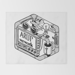 Arup WeWork West Project Patch Throw Blanket